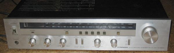 Pioneer reciever SX-600L front