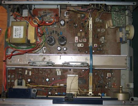 Pioneer reciever SX-600L inside
