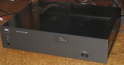 NAD 2150 power amplifier outside