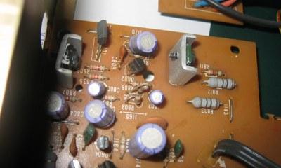NAD 2150 faulty transistor