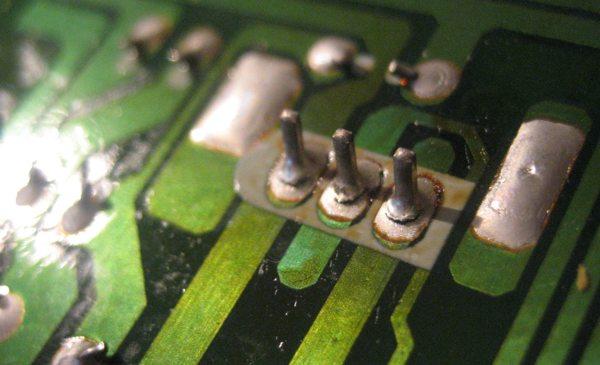 NAD 705 bad solder