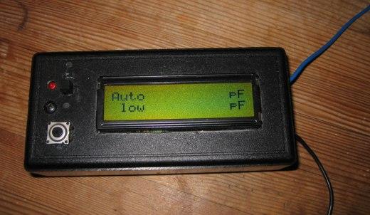 AVR capmeter measuring nothing