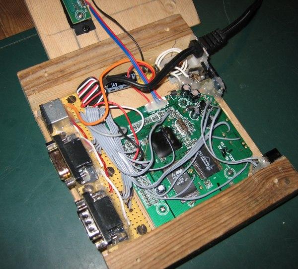 Wooden DTV inside