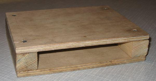Bare wooden case