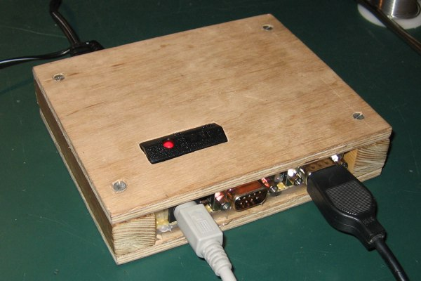 Finished wooden DTV front
