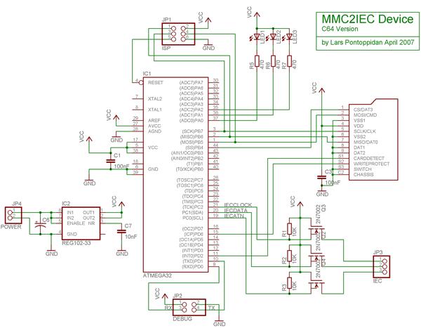 C64 Version Schematic