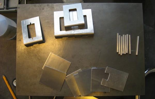 aluminum plating basic shaping