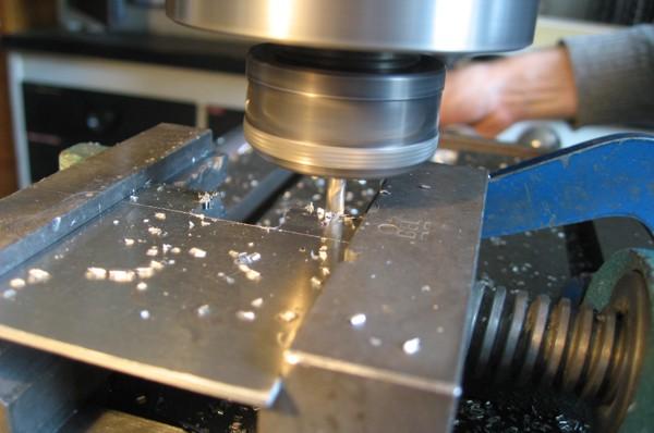 milling aluminum plating