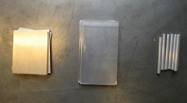 raw aluminum materials