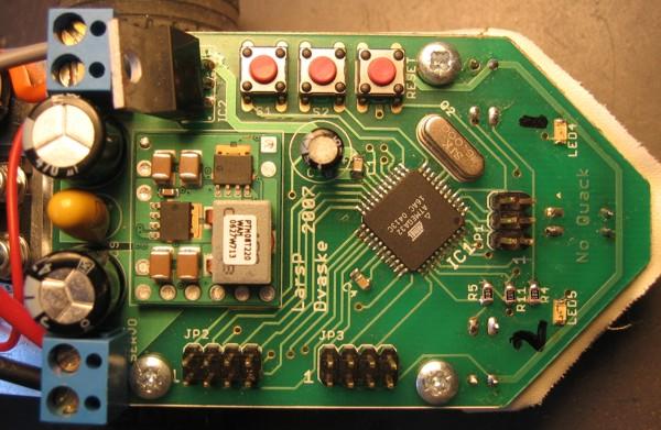 SickSack controller board photo