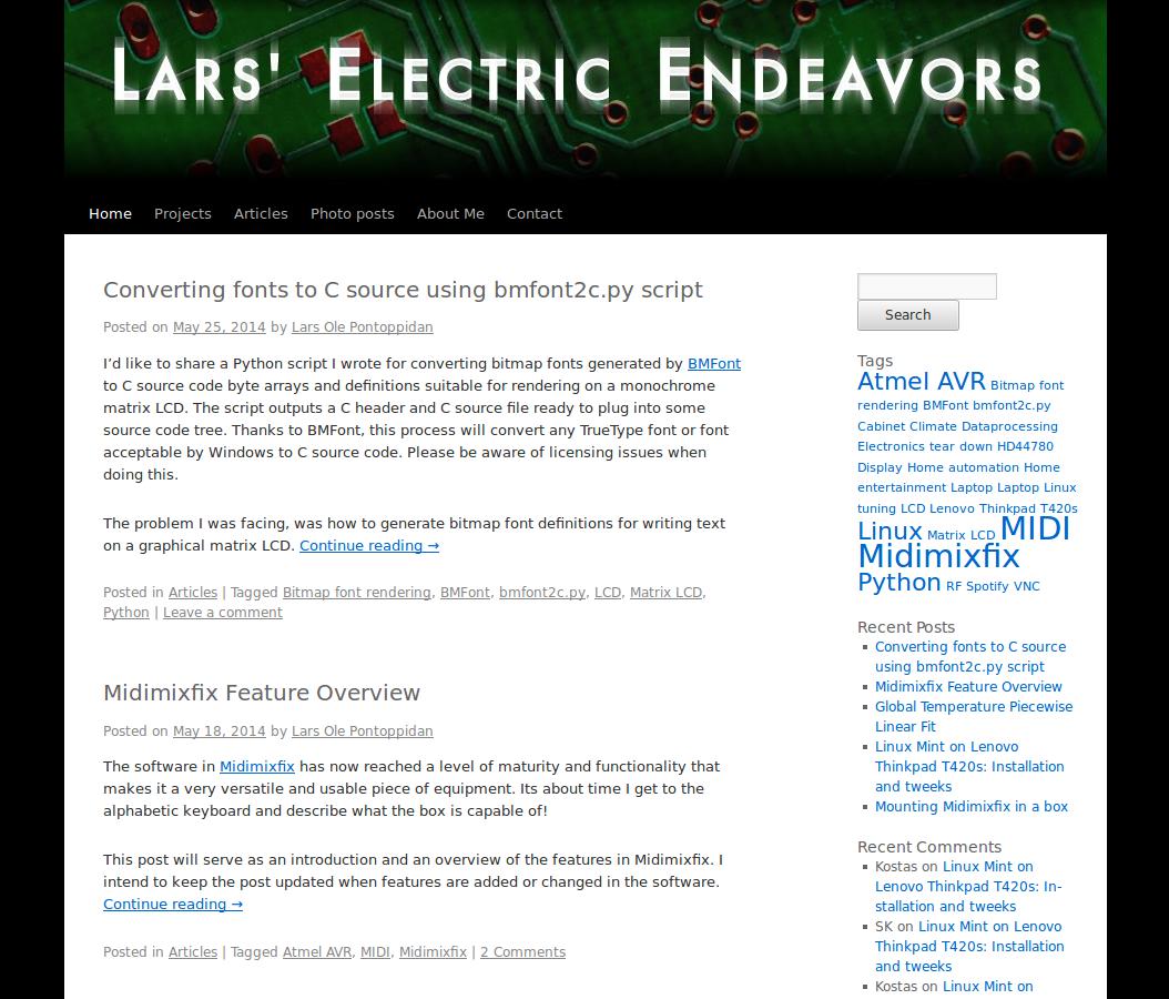 Lars Electric Endeavors Mk2 screenshot