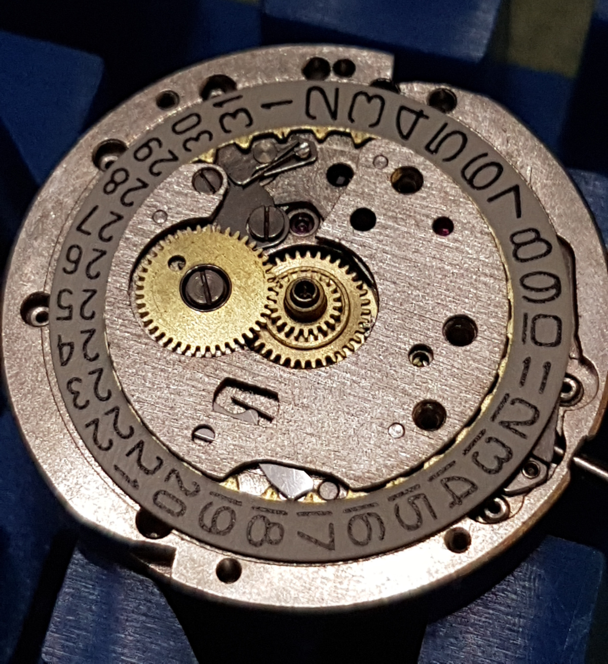 Repairing Slava 2414 movement