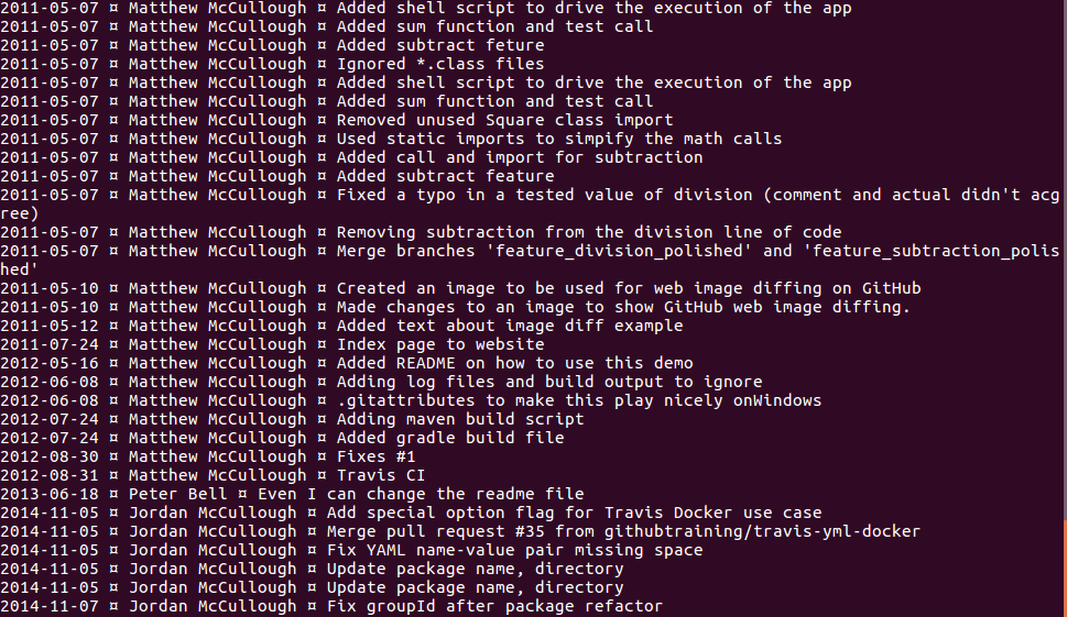 git lgb print out example