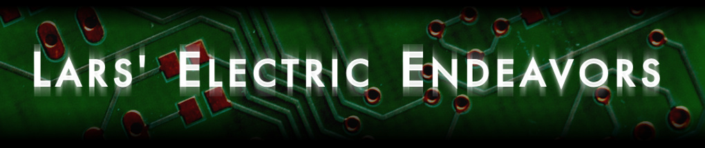 Lars' Electric Endeavours logo